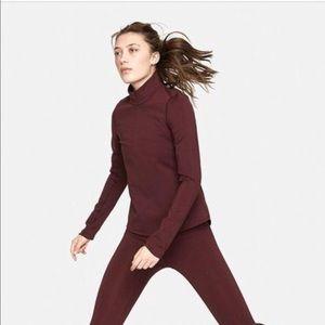 Brand New OV Half-Zip Jacket in Maroon